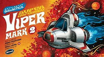 Moebius  Battlestar Galactica Super Deformed Viper MKII Plastic Snap Kit 944