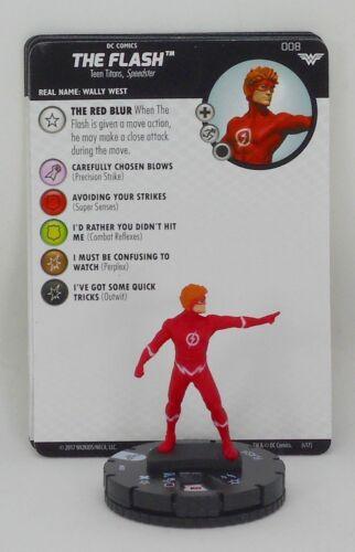 Heroclix Wonder Woman Gravity Feed # 008 The Flash