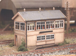 Details about RATIO N Gauge Model Railway/Layout/Scenic Kit No:223GWR  Wooden Signal Box