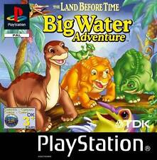 PS1 BIG WATER ADVENTURE GAME DISC for PlayStation 1 GOOD CONDITION