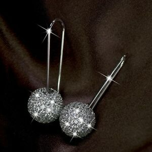 18k-white-gold-gf-made-with-SWAROVSKI-crystal-ball-stud-dangle-hook-earrings