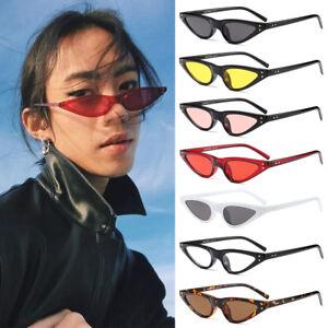 21101cc173 Image is loading 2018-Small-Cat-Eye-Sunglasses-Oval-Steampunk-Rivet-