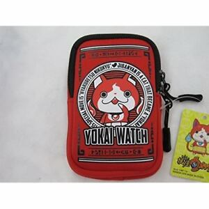 Yokai-Watch-mobile-pouch-with-carabiner-Japan-Red