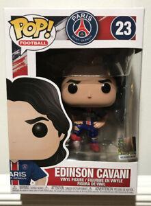 Funko Pop Football Vinyl Figure EDISON CAVANI NEW Germain Paris St PSG