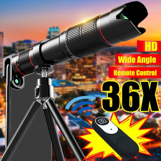 4K HD 36X Telescope Camera Zoom Lens Cellphone Telephoto Lens For Mobile Phone