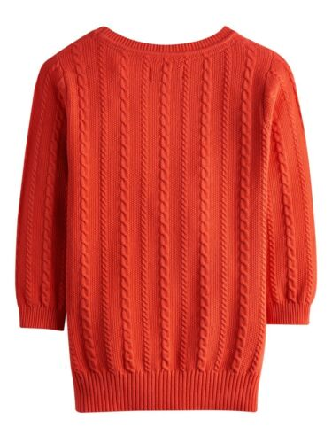 Knit Cable Lightweight Joules Cleo 40 Ladies Cotton Off Sweater sale AwvAUF