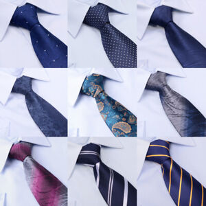 Classic-Silk-Pin-Dot-Necktie-Office-Wedding-Business-Party-Tie-For-Men