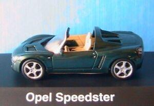 OPEL-SPEEDSTER-ROADSTER-GREEN-SCHUCO-N-4583-1-43-GRUN-VERT-VERDE