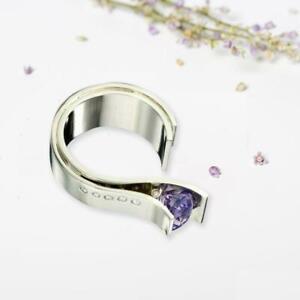 Vintage-Frauen-Maenner-Unisex-Amethyst-Ring-Hochzeit-Kristall-Ring-Schmuck-D9P0