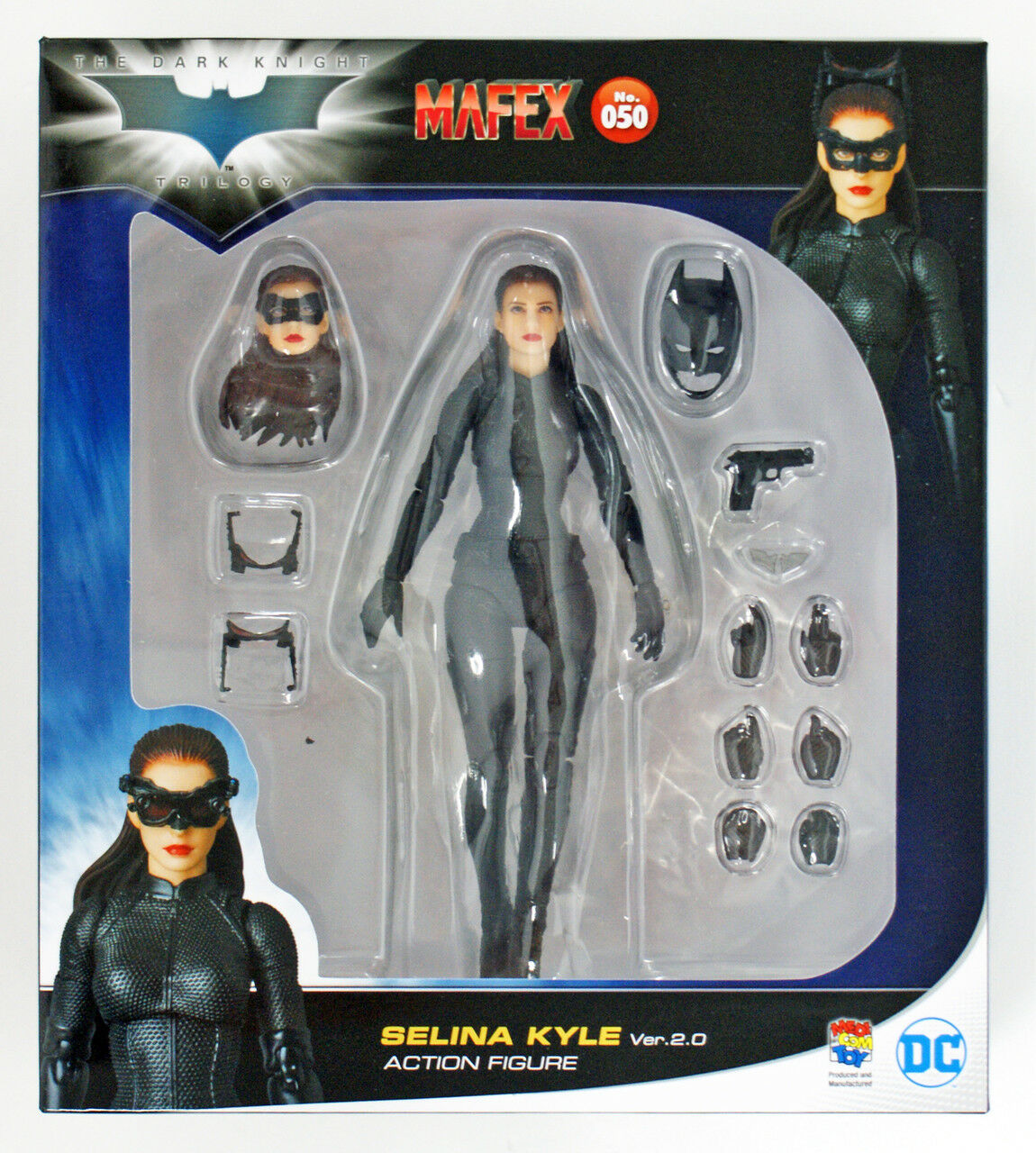 Medicom MAFEX 050 Batman The The The Dark Knight Rises Selina Kyle Ver 2.0 Action Figure 235bda