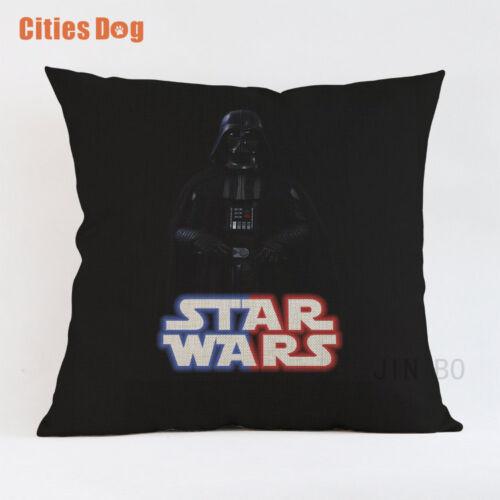 Star Wars Decorative Pillows Cushion cover coussin para decoracion linen animal