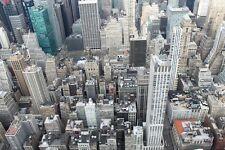 NEW YORK CITY SKYLINE LANDSCAPE POSTER PRINT STYLE U 24x36 HI RES