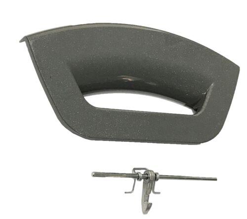 Hotpoint C00286363 machine à laver Poignée de porte Kit Graphite-Futura J00189017
