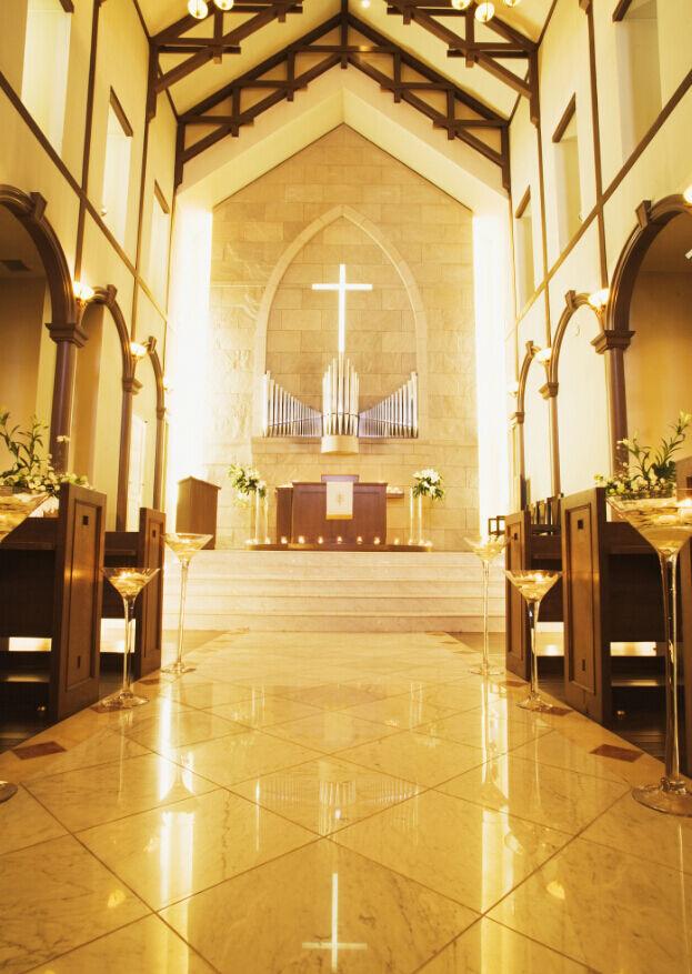 3D Die Kirche, das Kreuz 1 Fototapeten Wandbild Fototapete BildTapete Familie DE