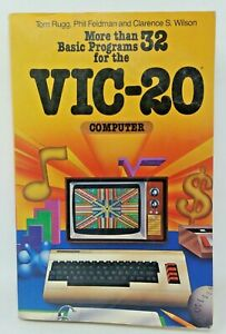 More-than-32-Basic-Programs-for-the-VIC-20-Computer-Commodore-1982-Softcover