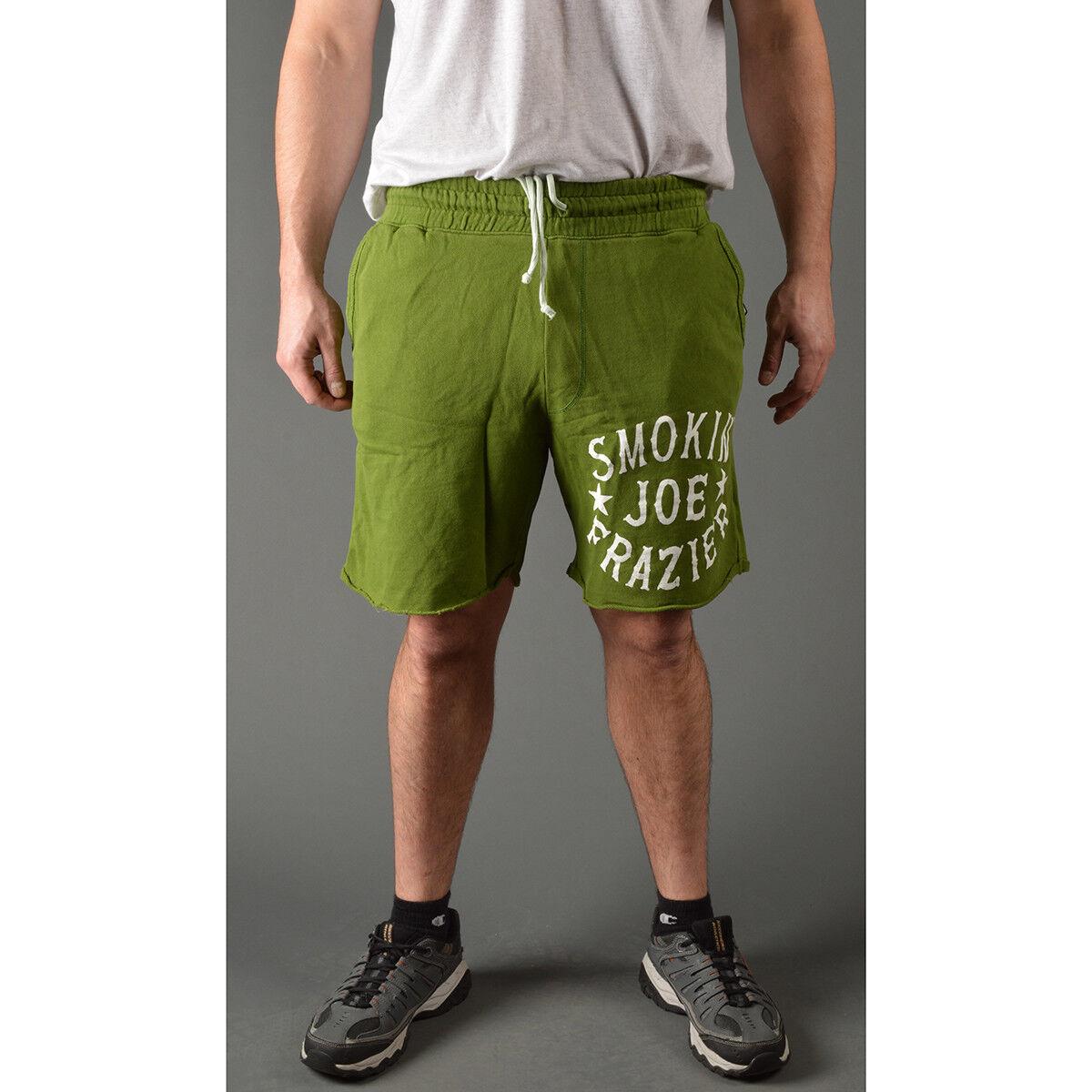 Roots of Fight Smokin' Joe Frazier Slim Fit Shorts - Green