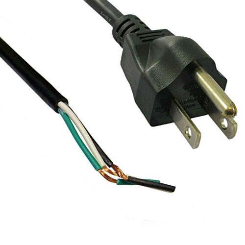 HQRP 10ft AC Power Cord for Black/&Decker 1180G 1311G 1312G 3125 3127 3128 3129