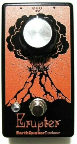 Used Earthquaker Devices Erupter Fuzz Guitar Effects Pedal