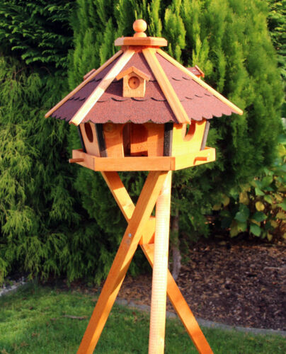 Volière oiseau maisons en bois de type 24 aussi avec pied