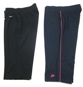 Capri Navy rosa Black Crop Pants 2 Nike Blue Due Large Athleisure paia Sz x4CqwHRv0