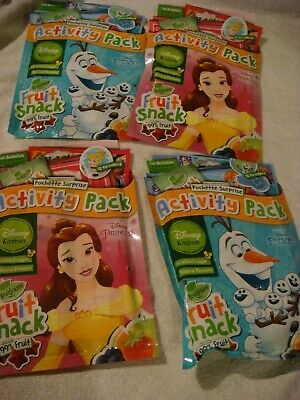 Frozen activity packs for boys /& girls Spiderman Disney Princess incredibles