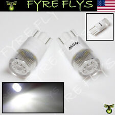 2 Pcs Xenon White Philips Style 168 194 2825 LED Bulbs License Plate Lights b#Z9