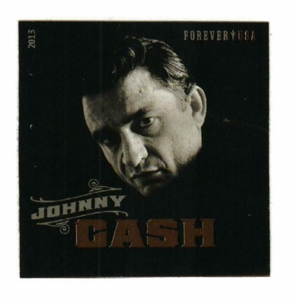 2013 46c Johnny Cash American singer-songwriter, Imperf
