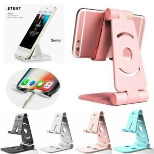 Foldable-Adjustable-Desk-Tablet-Desktop-Phone-Stand-Holder-For-Cell-Phone-amp-Table