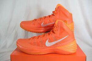 sports shoes 326ae 0b215 Image is loading Mens-18-NIKE-Hyperdunk-2013-TB-Orange-High-
