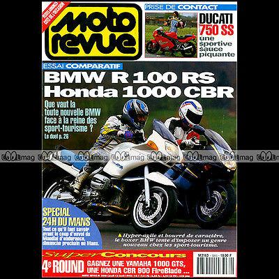 Briljant Moto Revue N°3084 Bmw R1100 Rs Honda Cbr 1000 Ducati 750 S Charles Coutard 1993