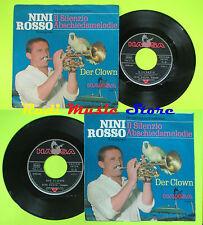 LP 45 7'' NINI ROSSO Il silenzio abschiedsmelodie Der clown germany cd mc dvd