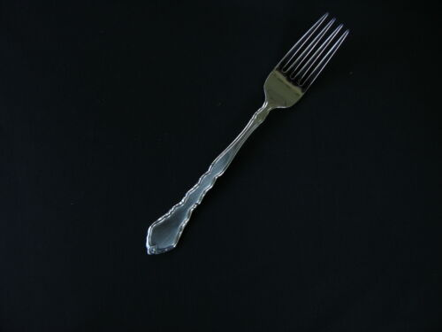 ONEIDA SATINIQUE DINNER FORKS 18//8 S//S  FREE SHIPPING USA ONLY 6
