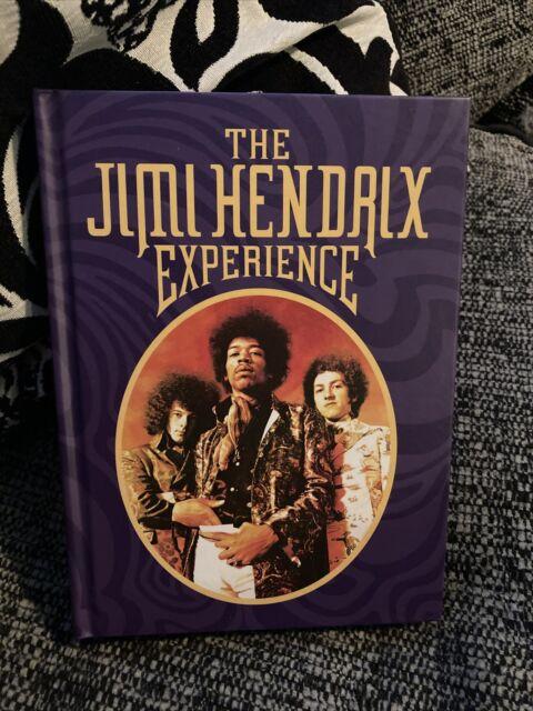 """""""THE JIMI HENDRIX EXPERIENCE"""" 4CD BOX SET plus BONUS 4 TRACK DVD Opened"""