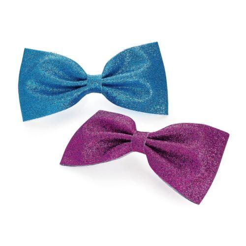 Da Donna Effetto Glitter /& Lace con Design Borchie Capelli Molletta Set accessori per capelli