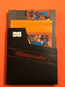 100-WORKING-NINTENDO-NES-GAME-CARTRIDGE-ORIGINAL-DINKEY-KONG-CLASSICS-Manual