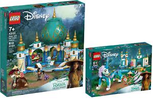 LEGO-Disney-43181-Raya-und-der-Herz-Palast-43184-Drache-Sisu-N3-21-VORVERKAUF
