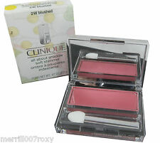 CLINIQUE ALL ABOUT EYE SHADOW  FULL SIZE '2W BLUSHED SHIMMER' NEW IN BOX
