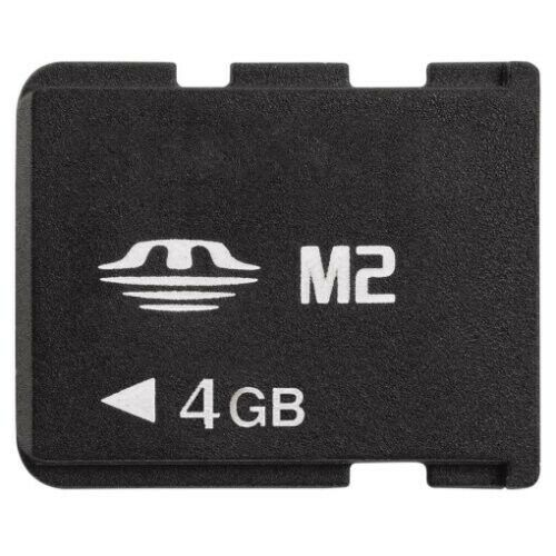 M2 Card 4GB Memory Stick Micro For Sony Ericsson Cell Phone //PSP Go