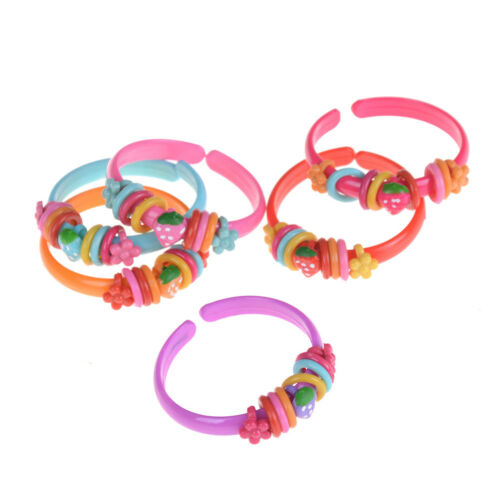 3Pcs Fashion Mixed Colourful Bracelet Kids Baby Jewelry Gift Party Supply ME