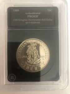 1989-S-Congress-Bicentennial-Proof-Modern-Commemoratives-Half-Dollar