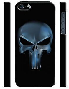 Iphone-4s-5s-5c-6-6S-7-8-X-XS-Max-XR-Plus-Hard-Cover-Case-The-Punisher-Logo-16