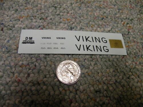 Herald King decals HO Viking Ann Arbour ferry Viking black shipyard   XX33
