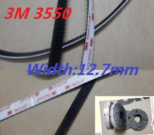 Width 1//2 inch 3M SJ3550 DUAL LOCK Black Acrylic Adhesive High Accept customized