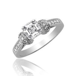 Asscher-Corte-2-50-Ct-Anillo-de-Compromiso-Diamante-Certificado-de-GIA-18Ct-Oro