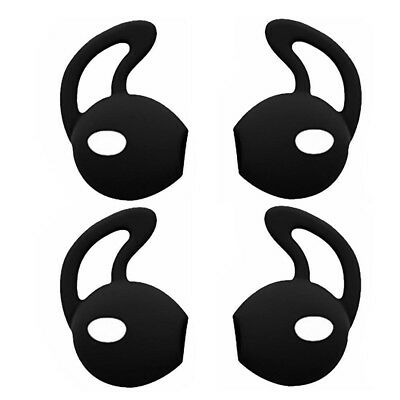2Pairs Eartips Silicone in-ear Headset Earbuds Cover with Hook for Apple Airpods