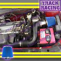02 03-05 Chevy Cavalier Pontiac Sunfire 2.2l I4 Ecotec Air Intake Blue S