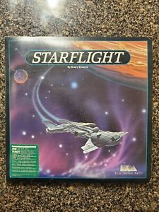 Vintage Starflight Electronic Arts Computer Game for IBM and Tandy PCs - 1986 14633011036  eBay