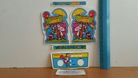 Replacement Decals For Vintage Coleco Electronic Donkey Kong Jr Mini Arcade Game