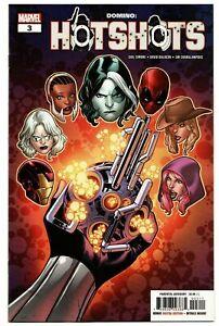 Domino-Hotshots-3-MARVEL-Comics-2019-1st-Print-Main-Cover-unread-NM