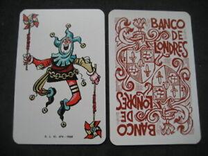 Joker-No-110-Bank-of-Londres-Mingote-Single-Playing-Card